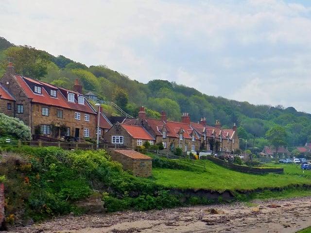 Sandsend village.