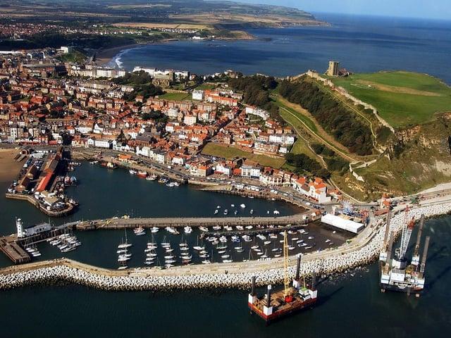 An aerial photo of Scarborough. Picture: JPI Media/ Simon Hulme