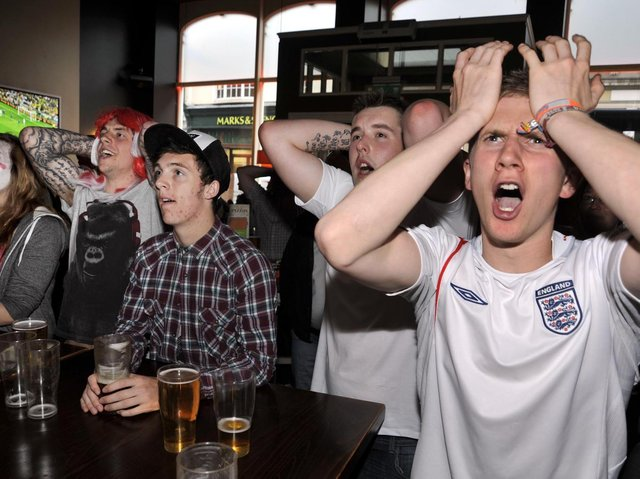 The Euro 2012 competition being watched in Scarborough. Picture: Andrew Higgins/ JPI Media