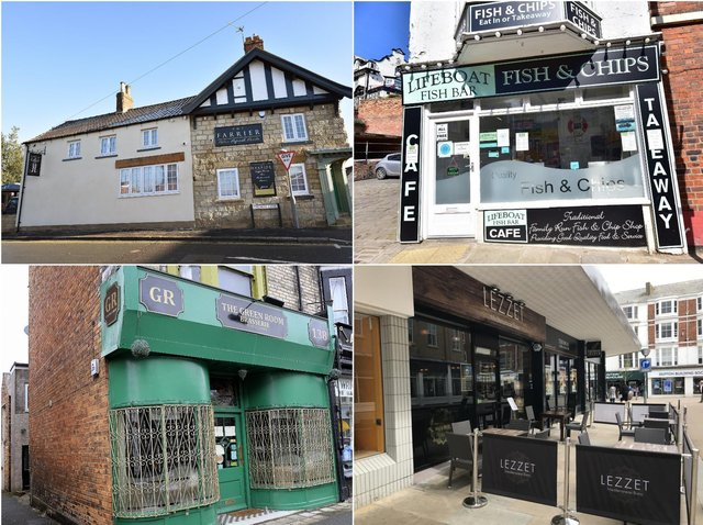 Clockwise from top left: The Farrier, Lifeboat Fish Bar, Lezzet, The Green Room. Pictures: Richard Ponter/ JPI Media