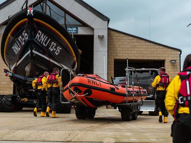 Scarborough's new inshore lifeboat. Photo: (RNLI/Erik Woolcott)