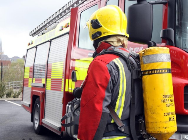 Firefighters from Whitby, Goathland and Lythe tackled a railway trackside fire at Goathland.