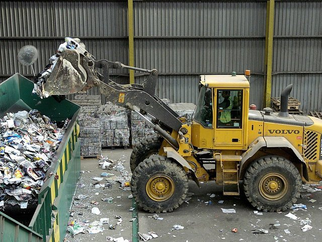 Carnaby Waste Recycling Plant.
