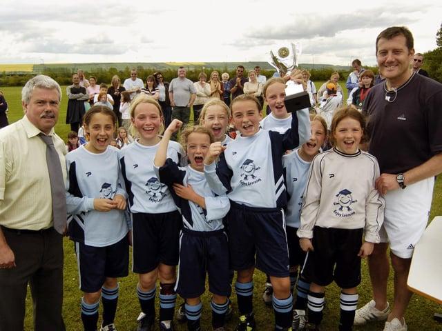 RETRO SPOTLIGHT - Scarborough Primary Schools Euro 2004 event