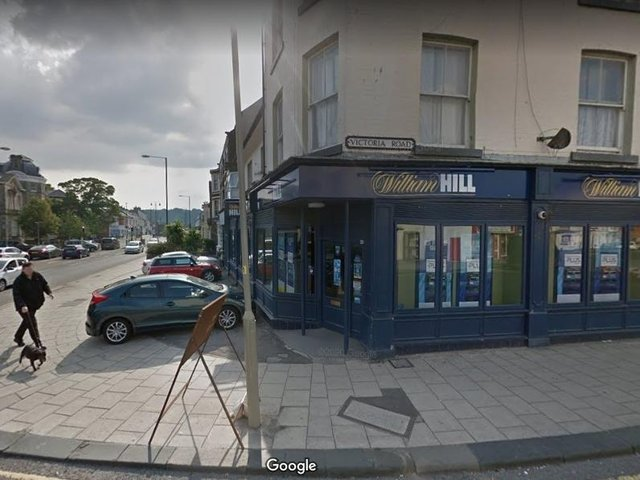 The vacant William Hill on Falsgrave Road could become a bar. (Photo: Google)