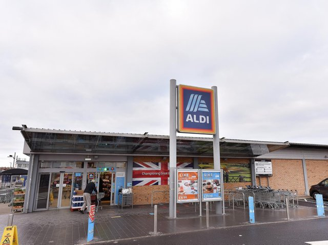 The existing Aldi store in Scarborough on Northway. Picture: JPI Media/ Richard Ponter