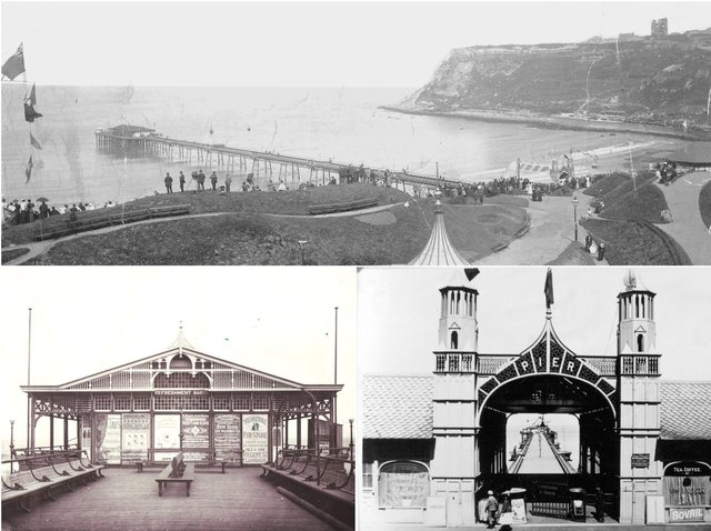 The story of Scarborough's lost North Bay Pier - and how it was destroyed.