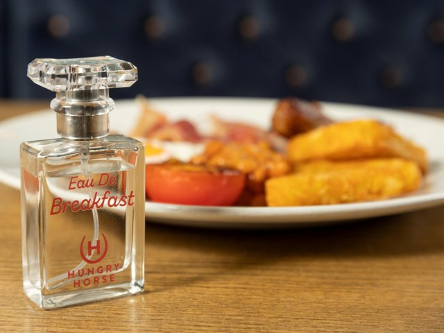 """The fragrance has """"a tantalising aroma for breakfast fans"""", says Hungry Horse."""