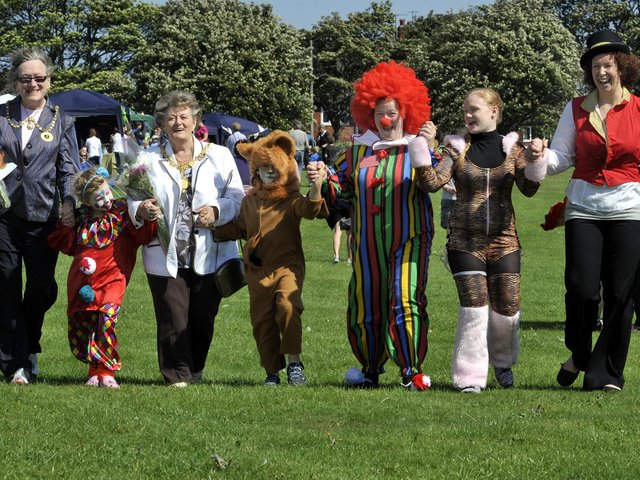 The People's Carnival, at Northstead School fields in 2010. Picture: JPI Media