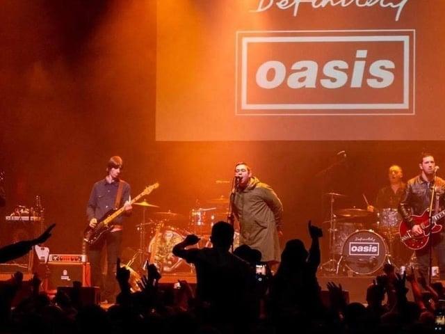 Definitely Oasis will play Scarborough Spa next year