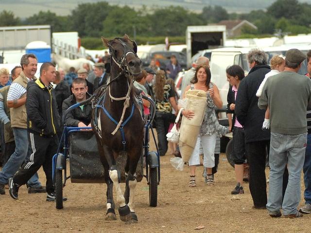 A previous Seamer Horse Fair. Picture: JPI Media/ Richard Ponter