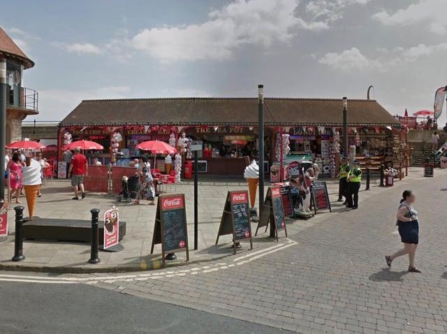 The teapot kiosk on Sandside. Picture: Google Maps