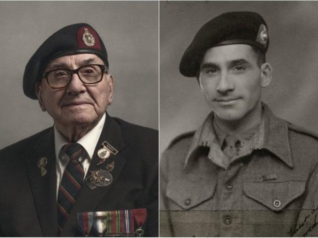 Maurice Sadler. Photo on left by Glyn Dewis.