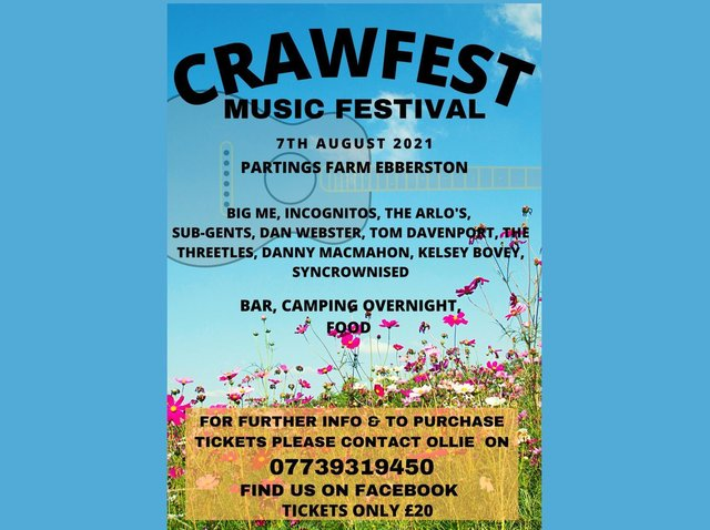 The Crawfest poster.