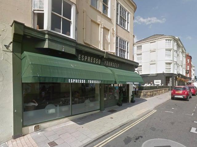 Espresso Yourself in Scarborough. Picture: Google Maps