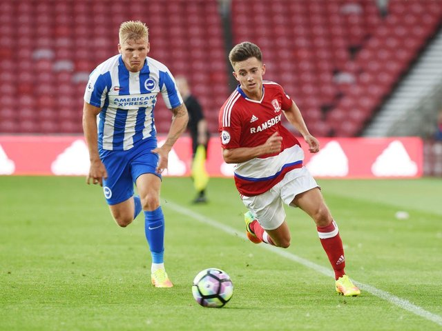 Lewis Maloney during his time at Middlesbrough.