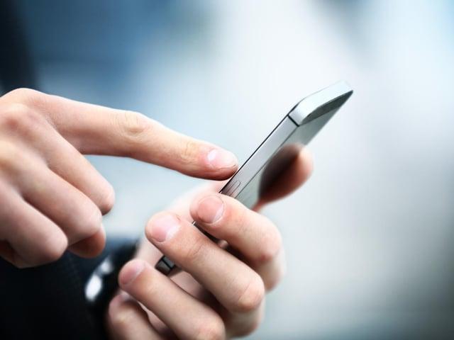 Stock image of mobile phone. JPI Media