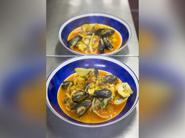 Have a go at this Bouillabaise recipe, thanks to the Magpie Cafe, Whitby.
