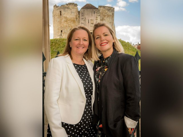 Castle Employment's Suzanne Burnett, left, and Managing Director Kerry Hope.