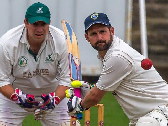 Simon Bowes' century was not enough to save Staithes from defeat at Cayton.