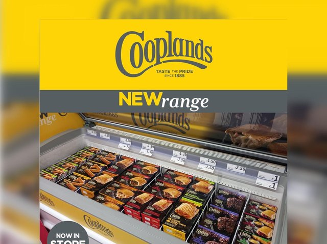 Cooplands and Heron Foods have launched a new range