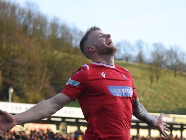 Josh Barrett opened the scoring for Boro against Garforth Town