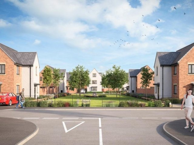 Plans submitted to the council proposed 12 one bedroom, 91 two, 229 three and 138 four bedroom homes.