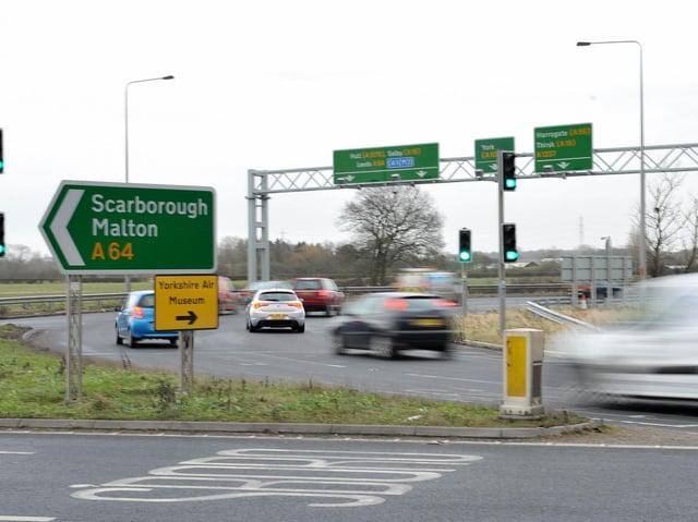 The Hopgrove roundabout. Picture: JPI Media