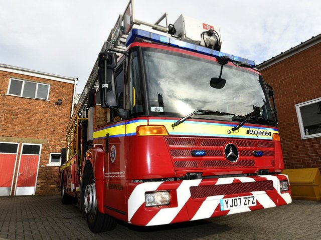 Fire crew in Scarborough have rescued a woman who became locked in her bedroom. Stock image. Picture: JPI Media/ Richard Ponter