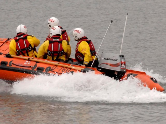 Rescuers were called late yesterday evening. Stock image.