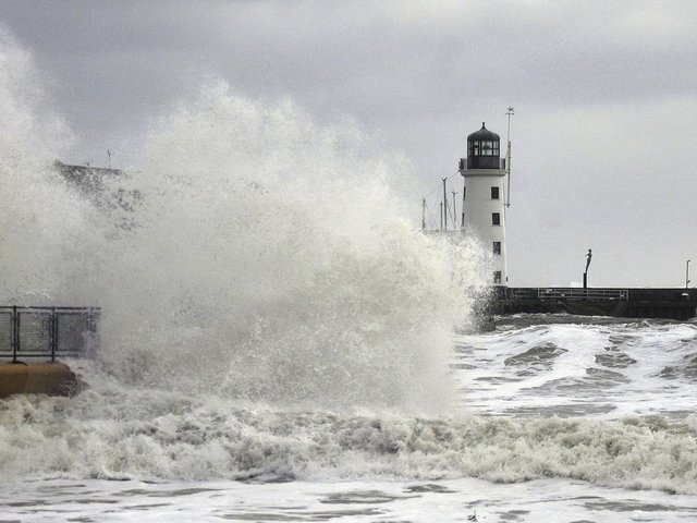 Scarborough's tourist infrastructure and heritage assets are predicted to be affected by coastal erosion and sea flooding over the next 100 years.