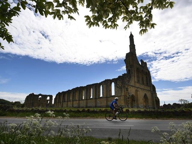 Byland Abbey.