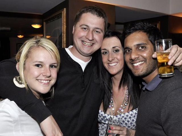 Alex, Mark, Natasha and Jay out together. (JPI Media)