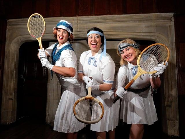 Lauren Macdonald (Enid), Claire Edwards (Phyllis) & Linda Polkowski (Becky)