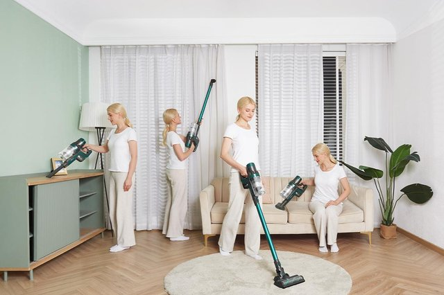 The Ultenic U11 Cordless Vacuum has various attachments to tackle different jobs