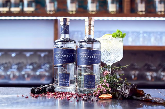 Anderson's Bar and Library on board Iona will be serving expertly crafted Marabelle Gin cocktails